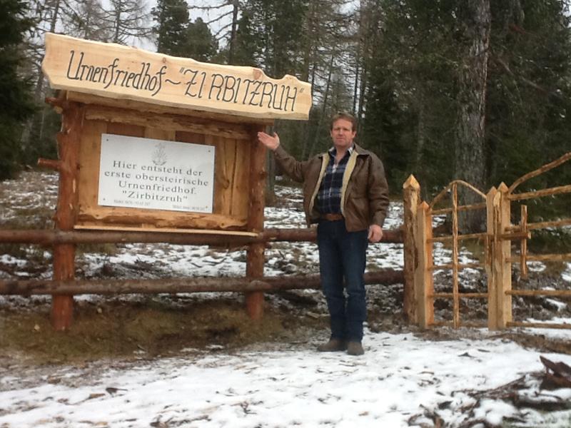 Gottfried Eichhöbl Urnenfriedhof Zirbitzruh